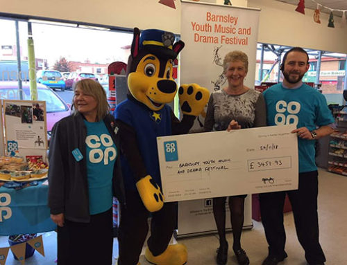 A very big thank you to the Co-op